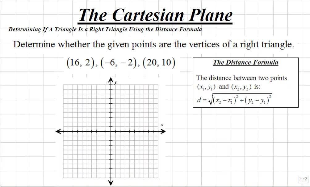 Classroom | Precalculus Review For Calculus I: Determining