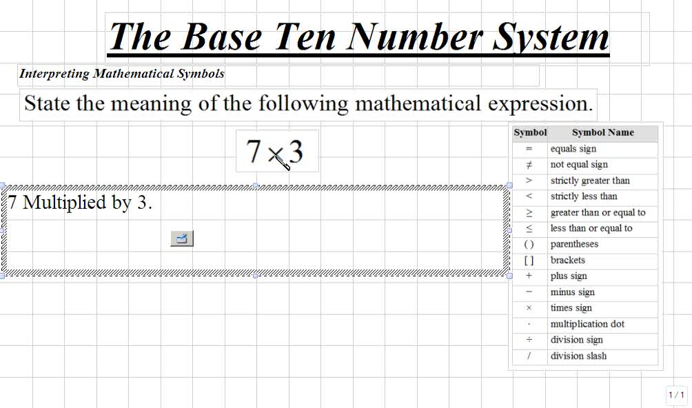 Mathematical Symbols Name Images Meaning Of This Symbol